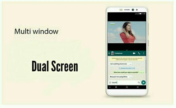 Infinix hot S3 dual Screen