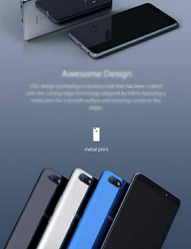 Infinix Note 5 design