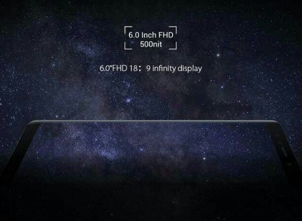 Infinix Note 5 display