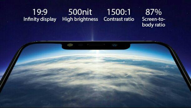Infinix Hot 6X display