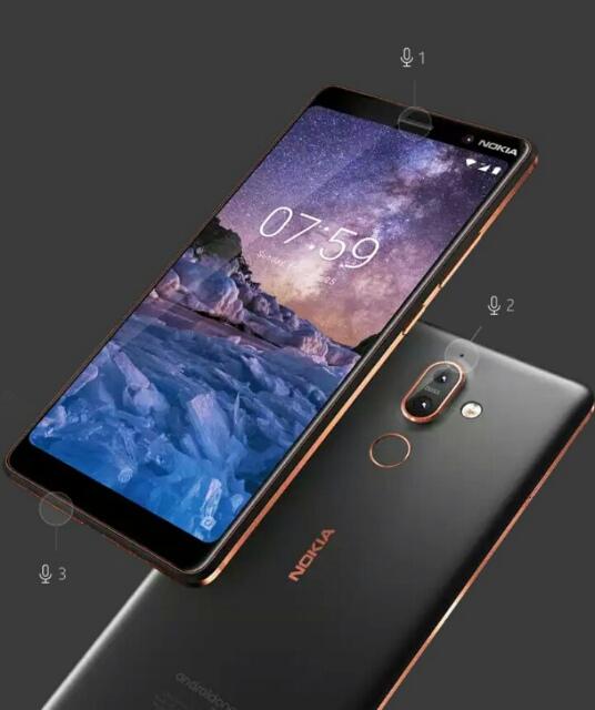 Nokia 7 plus design