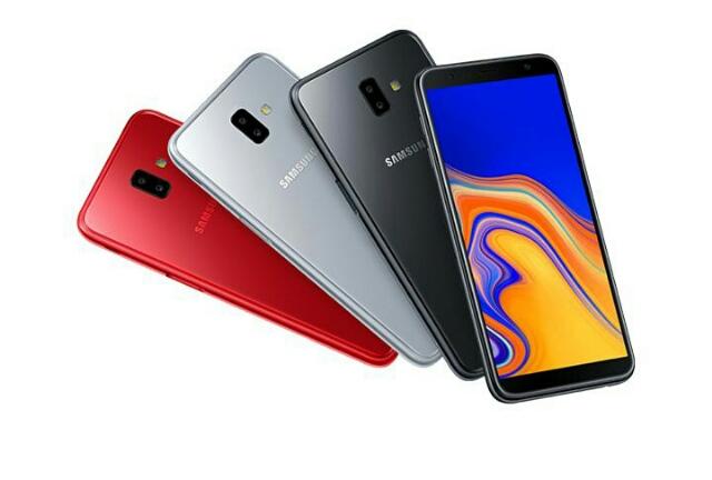 Samsung Galaxy J6 plus design