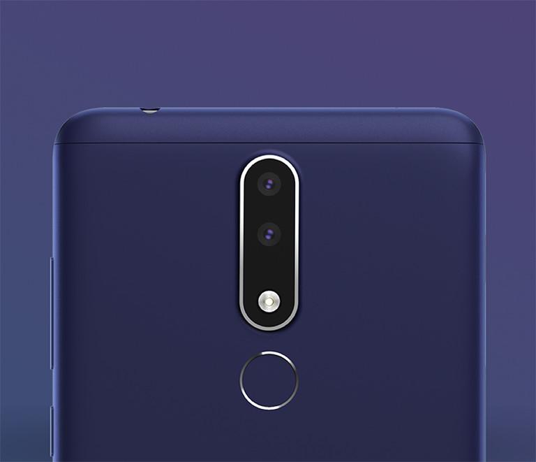 Nokia 3.1 plus fingerprint