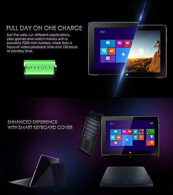 Tecno Winpad 10 Battery