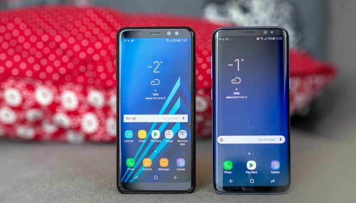 Samsung Galaxy A8 display