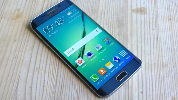 Galaxy S6 Edge display