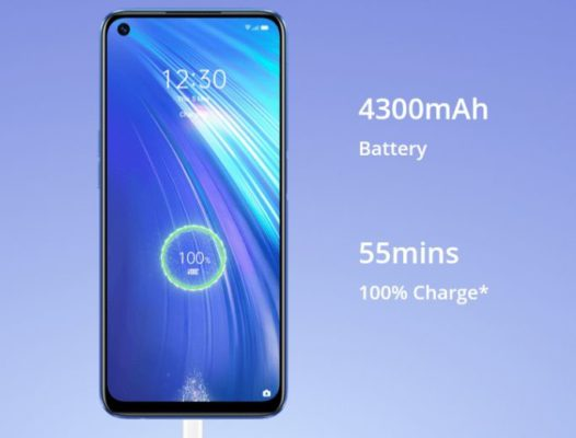 Realme 6 30W Fast charging