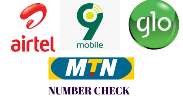 Airtel, MTN, Glo, 9Mobile Number check
