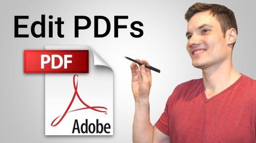 Edit PDF Documents